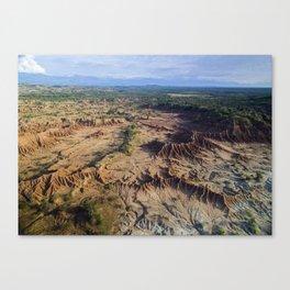 Desierto de Tatacoa Canvas Print