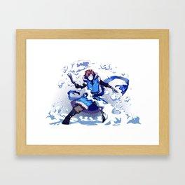 Snow Bender Cryaotic Framed Art Print