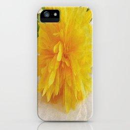 Kerria Japonica iPhone Case