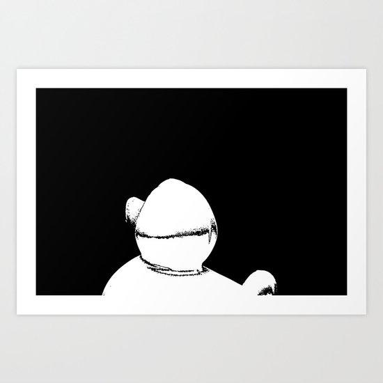 Dynamo Duck Art Print