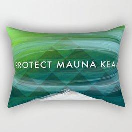 Protect Mauna Kea Rectangular Pillow