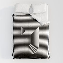 "Illusive letter ""J"" Comforters"