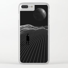 Keep It Simple Clear iPhone Case