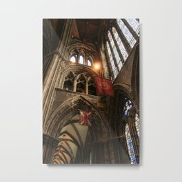 Glasgow Cathedral III Metal Print