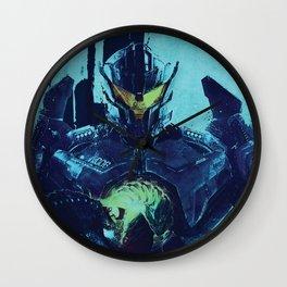 Pacific Rim Uprising Wall Clock