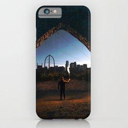 Minneapolis Minnesota Skyline Portal iPhone Case