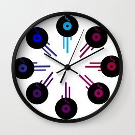 Analog Zine [ Kolor of Sound ] Wall Clock