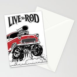 1955 CHEVY CLASSIC HOT ROD Stationery Cards