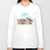 copenhagen Long Sleeve T-shirts featuring Copenhagen by HOONISME