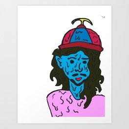 Sad Boy CRYW**K Art Print