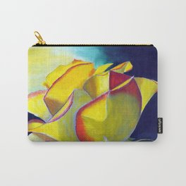 Solitary Rose Carry-All Pouch