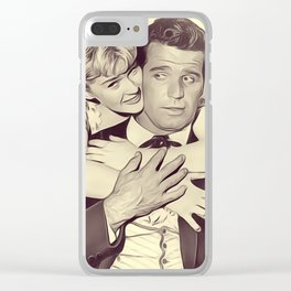 Connie Stevens and James Garner Clear iPhone Case