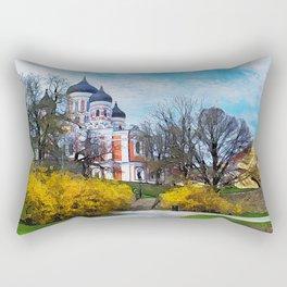 Tallinn art 4 #tallinn #city Rectangular Pillow