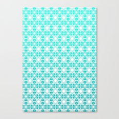 Blue Stars Canvas Print