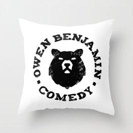 Owen Benjamin Comedy Throw Pillow