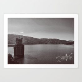 Eildon Lake Art Print