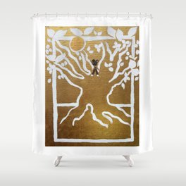 The Baobab: Our Tree of Life Shower Curtain