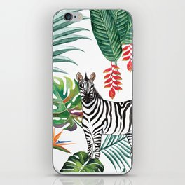 Nature Zebre pattern iPhone Skin