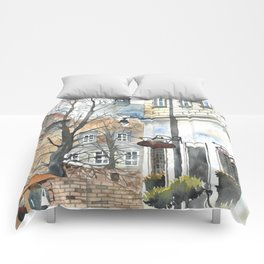 The Warsaw Barbican Poland Comforters