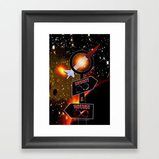 DIRECTION - 001 Framed Art Print