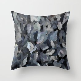 Shades of Gray Tapestry Throw Pillow