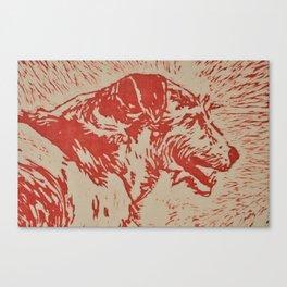 Jack Russell Terror Canvas Print