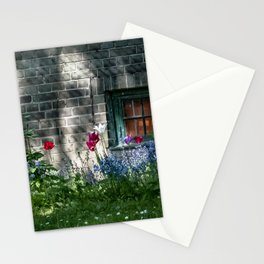 Early summer cottage Stationery Cards