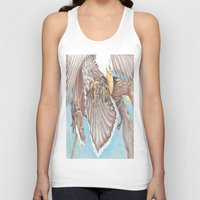 guardians Tank Tops featuring Guardians by Connie Campbell