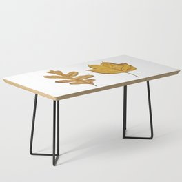 Fall Leaves Painting Coffee Table