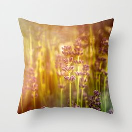 Scent of Summer Throw Pillow