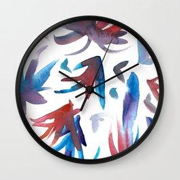 Bio Form #19 Wall Clock