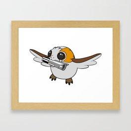 Flyin W/ Saber Framed Art Print