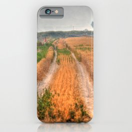 An old road. iPhone Case