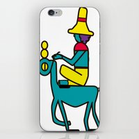 trip iPhone & iPod Skins featuring Trip by MRTN