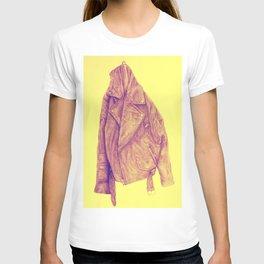 Leather Jacket (Amber) T-shirt