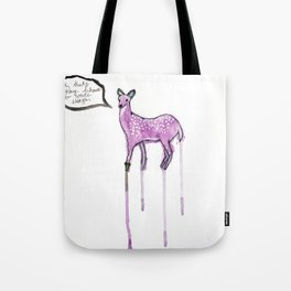 Essay Writing Deer Tote Bag