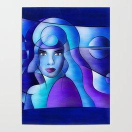 Esparamentina - endless blue Poster