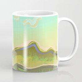 Magic Flight over the Sea of Clouds Coffee Mug