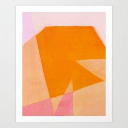 Colors Bump 3 Art Print