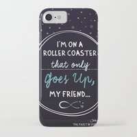 fault in our stars iPhone & iPod Cases featuring The Fault in our Stars by Adri Cañenguez