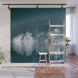 Icing Clouds Wall Mural