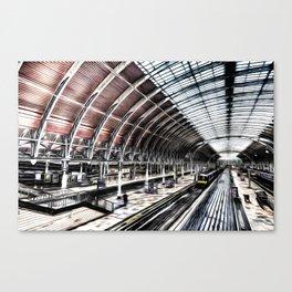 Paddington Station Art Canvas Print