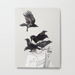 Neither Poor Nor Innocent Metal Print