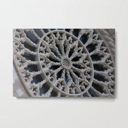 Rosone di Collemaggio Metal Print