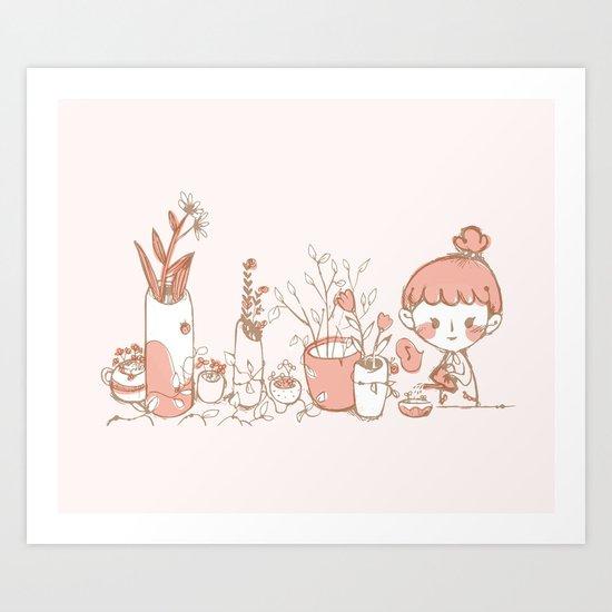 Little Garden Art Print