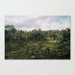 Bali Tegalalang II , Indonesia Canvas Print