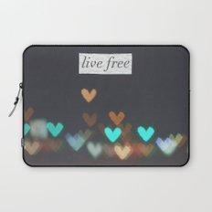 Live Free  Laptop Sleeve