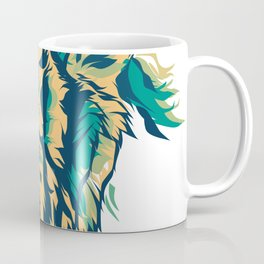 Tiger king. Tiger head. Tiger face. Tiger illustration Coffee Mug