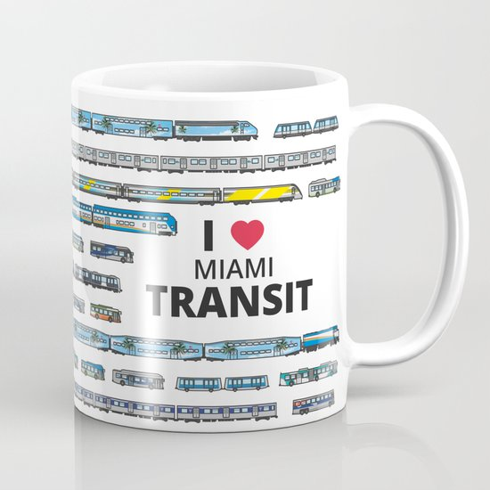 The Transit of Greater Miami Mug