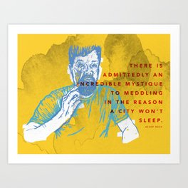 Aesop Rock Art Print